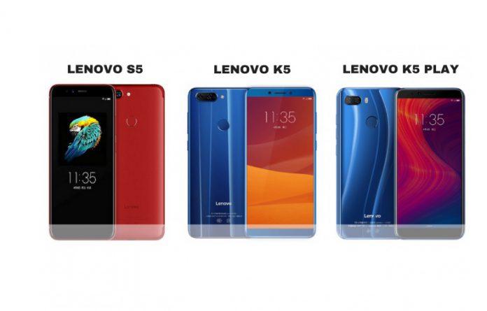 معرقی گوشی های جدید لنوو