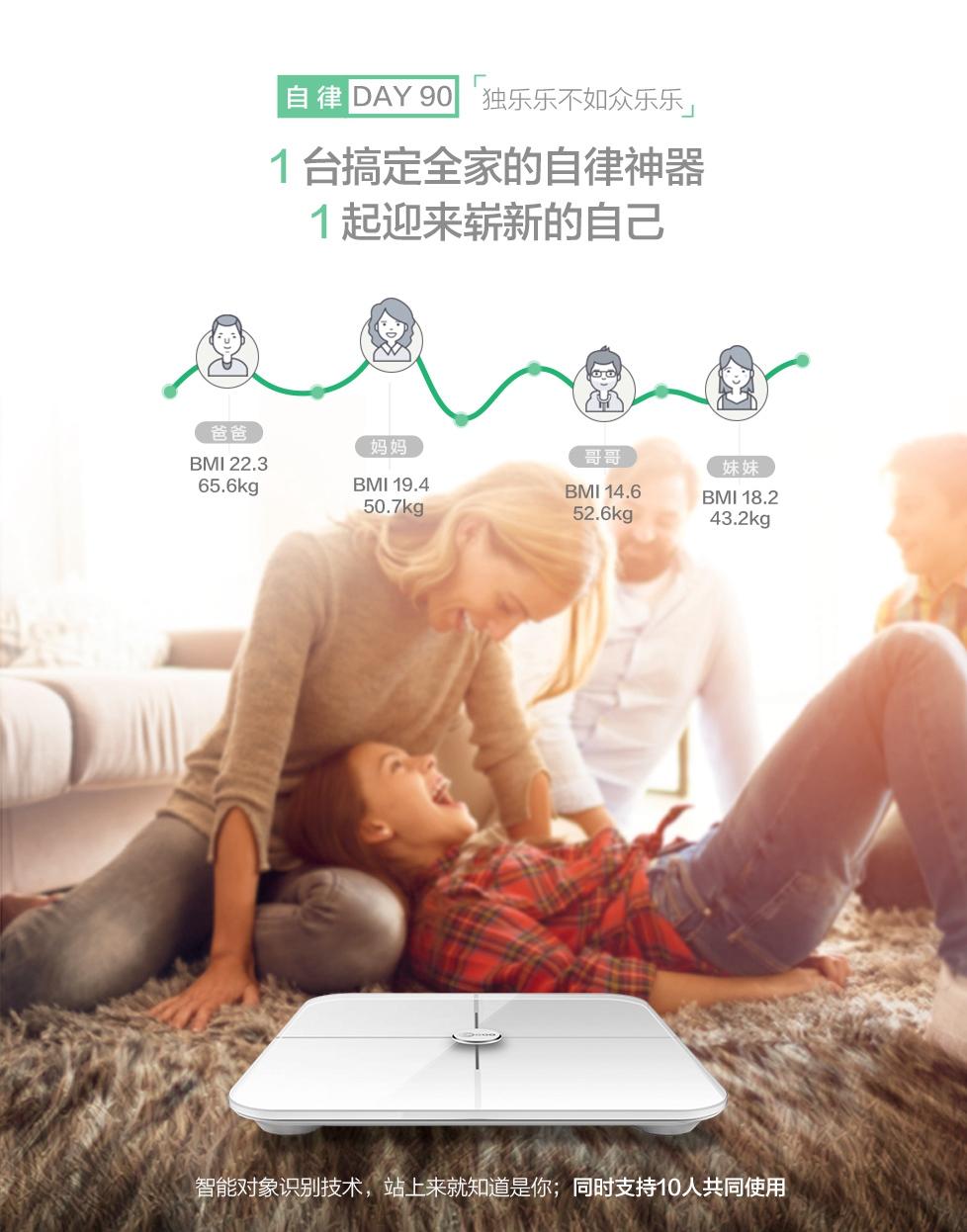 ترازوی دیجیتال لنوو مدل Lenovo Lecoo Smart Body
