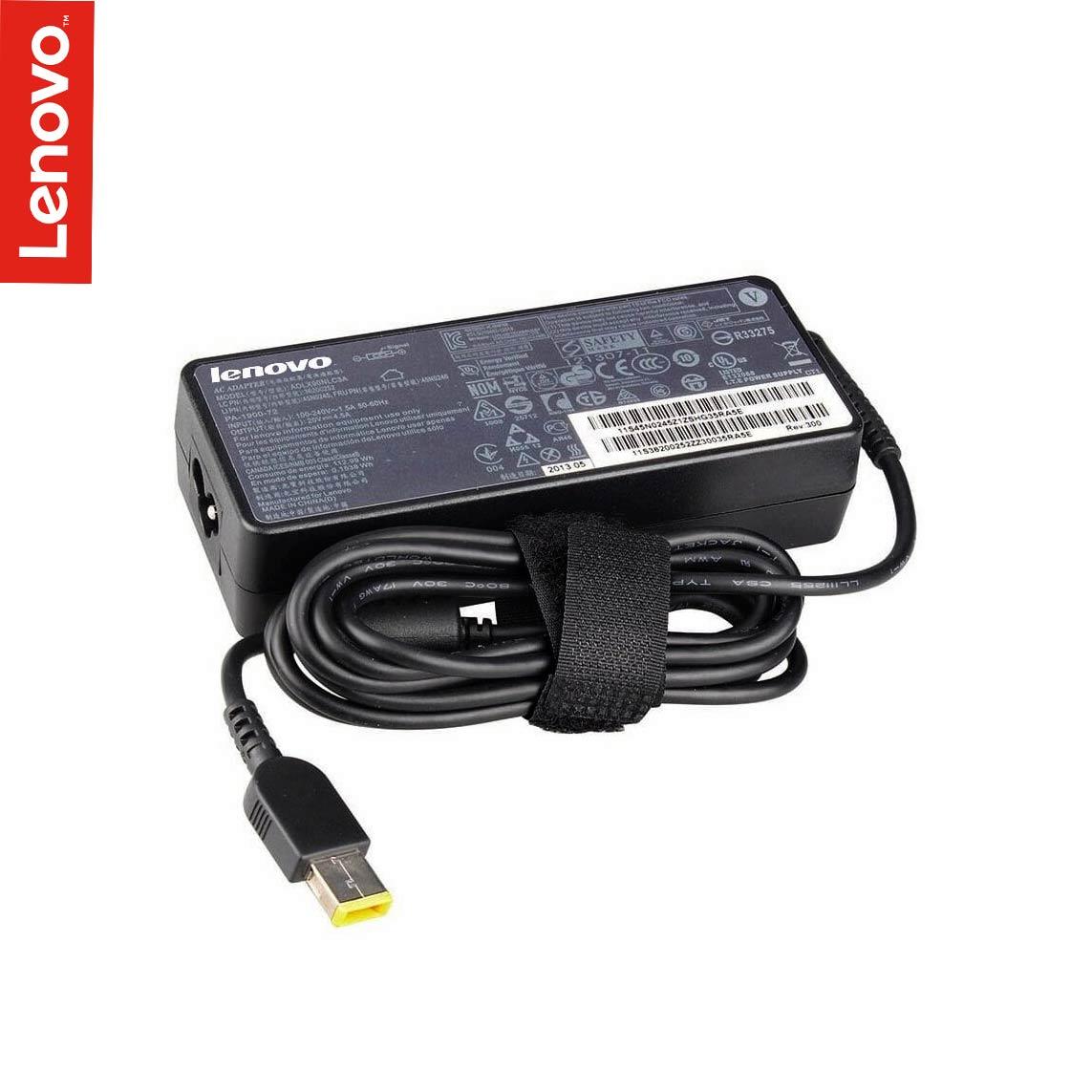 آداپتور لپ تاپ لنوو 20v 4.5a مدل ThinkPad USB