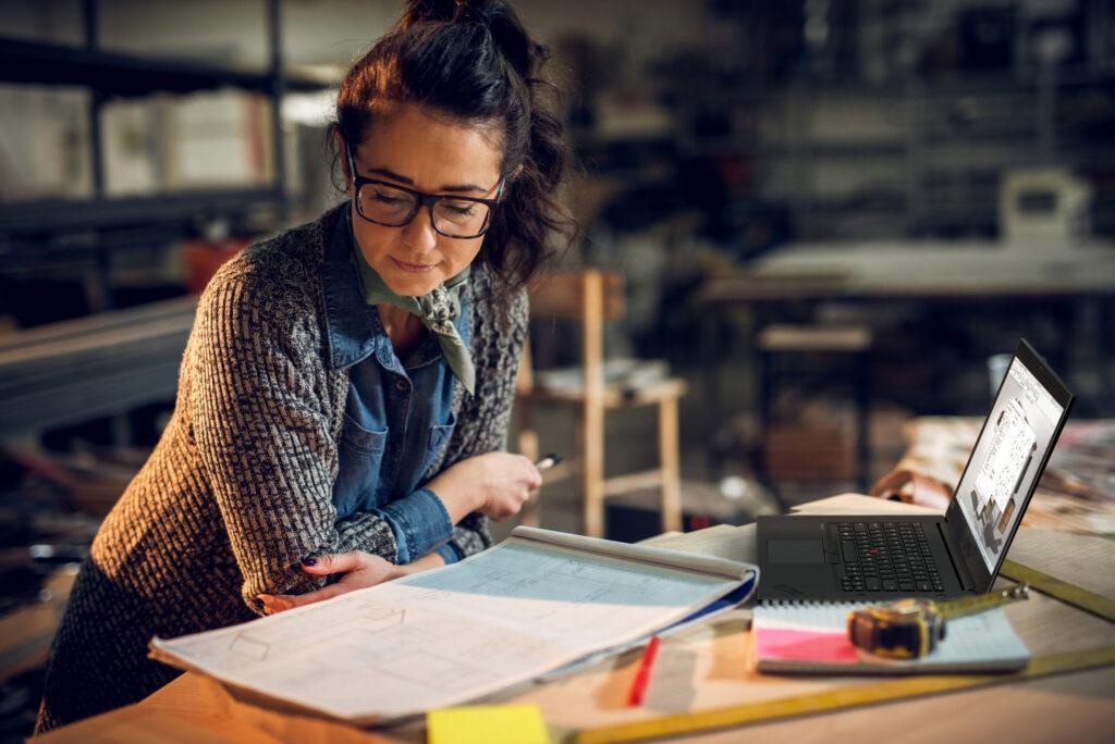 لنوو ورک استیشن های جدید سری ThinkPad P را رونمایی میکند