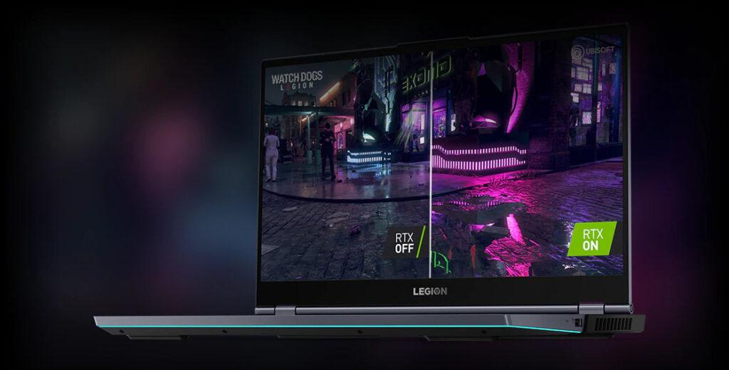کارتهای گرافیکی GeForce® RTX لپ تاپ گیمینگ لنوو Legion 7i