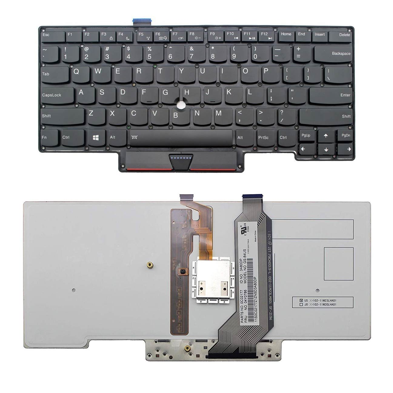 کیبورد لپ تاپ لنوو X1 CARBON نسل اول