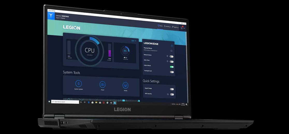 طراحی لپ تاپ گیمینگ لنوو Legion 5i