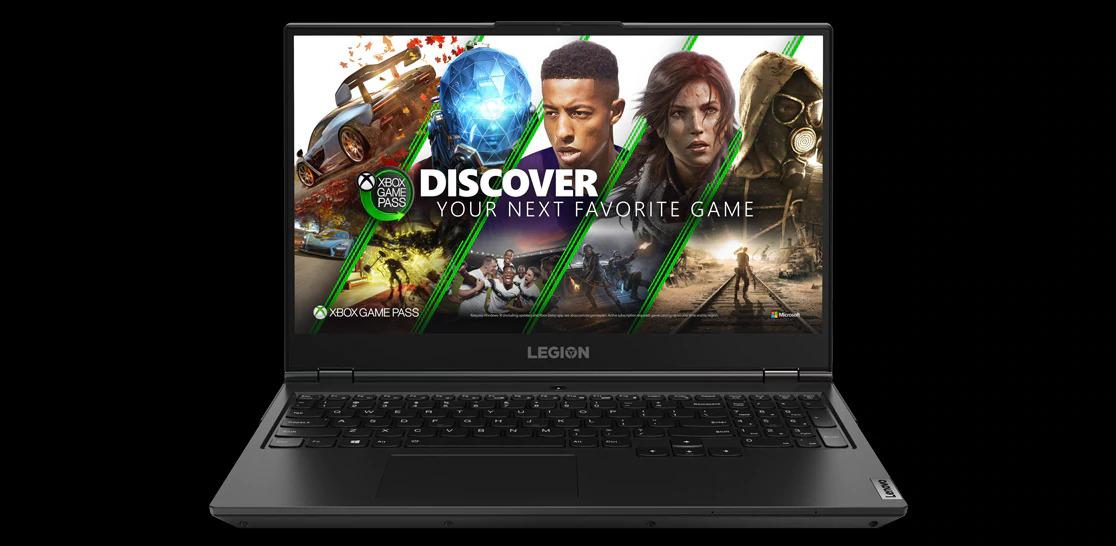 بازی های XBOX در لپ تاپ گیمینگ لنوو Legion 5i