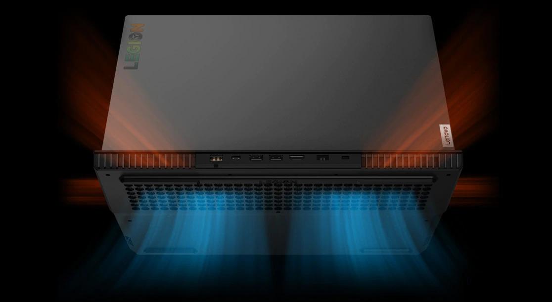 سیستم خنک کننده ی لپ تاپ گیمینگ لنوو Legion 5i
