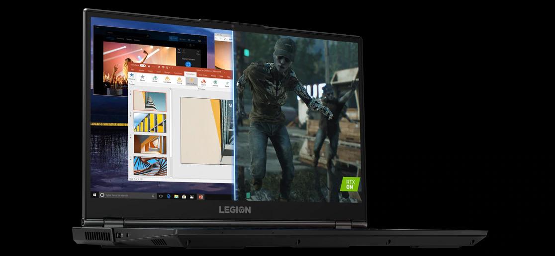 شارژ و باتری قوی لپ تاپ گیمینگ لنوو Legion 5i