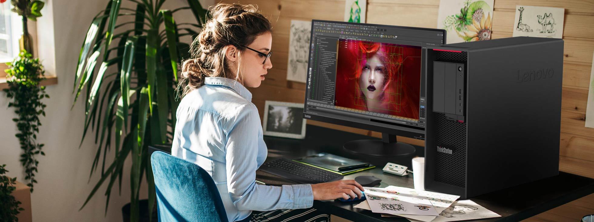 کیس جدید لنوو ThinkStation P620 به کاربران امکان برخورداری از جدیدترین تکنوژی سال 2020 را میدهد
