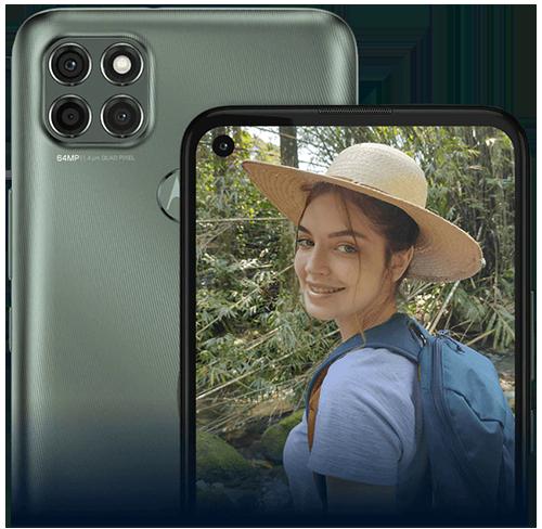 دوربین تلفن هوشمند موتورولا Motorola g9 power