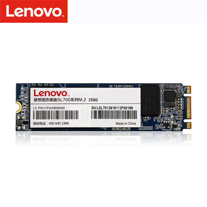 نمای هارد لپ تاپ Lenovo SSD m2 2280