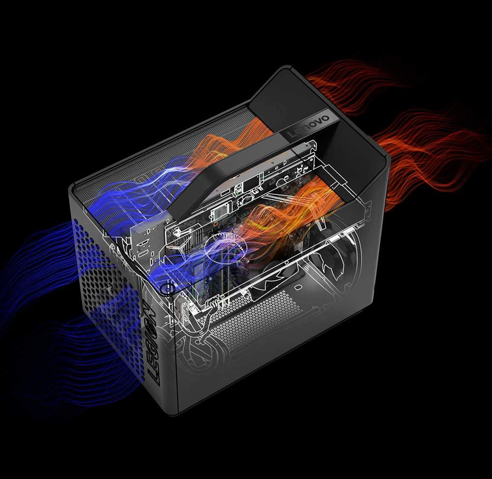 سیستم خنک کنندگی مینی کیس گیمینگ لنوو Legion C730 Cube